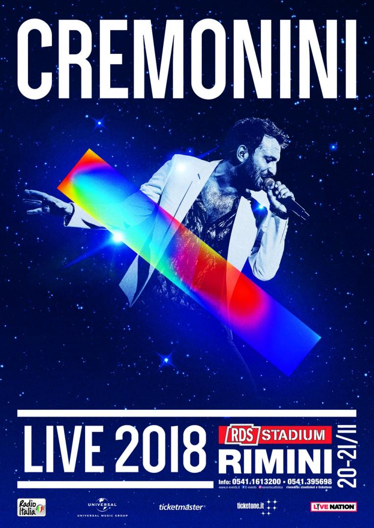 Cesare Cremonini in concerto RDS stadium Rimini - main